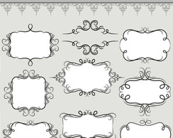 Kit Digital Scrapbook Frames 24