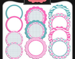 Kit Digital Scrapbook Frames 26
