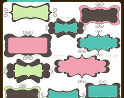 Kit Digital Scrapbook Frames 30