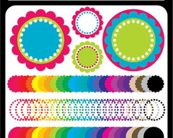 Kit Digital Scrapbook Frames 31