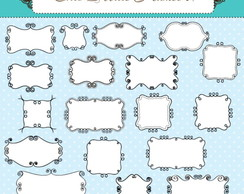 Kit Digital Scrapbook Frames 37