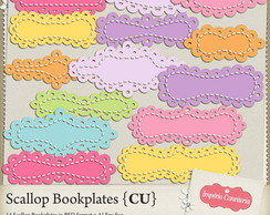 Kit Digital Scrapbook Frames 52