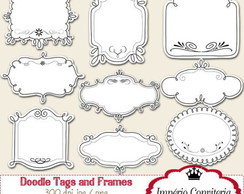 Kit Digital Scrapbook Frames 60