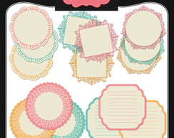 Kit Digital Scrapbook Frames 71