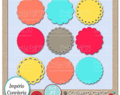 Kit Digital Scrapbook Frames 84