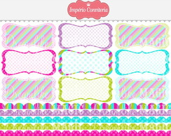 Kit Digital Scrapbook Frames 90