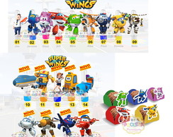 Kit Super Wings 3d super wings