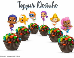 Topper Bubble Guppies Docinhos