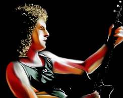 Poster Roqueiros A3 - Brian May