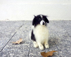 Border Collie - Miniatura de cachorro
