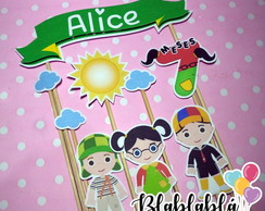 Cake Topper Chaves