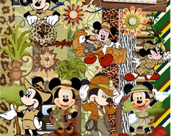 Kit Digital Scrapbook Mickey Safari 17