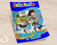 Revista colorir Toy Story