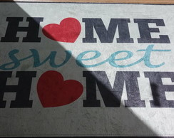 Tapete digital Home sweet home 0,40x0,60