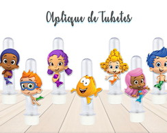 Aplique Tubete Bubble Guppies