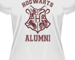 Camiseta baby look Hogwarts alumni harry