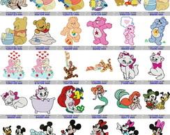 42 Matrizes Desenho Infantil Disney Bordado Janome Brother No Elo7