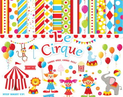 Kit Digital Scrapbook Circo 26