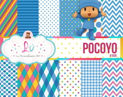 Papel digital Pocoyo