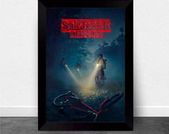 Quadro Poster com Moldura Stranger Things 003