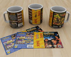 Caneca sega 32x West mania the arcade game