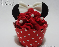 Mini Cupcake - Minnie Vermelha