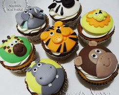 Cupcake - Safari (ou Zoo)