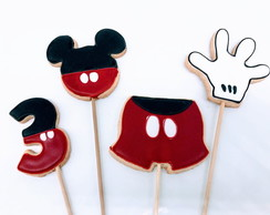 Biscoito decorado Mickey