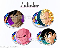 Latinha Dragon Ball Z