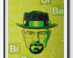 Poster A3 Breaking Bad (sem moldura)