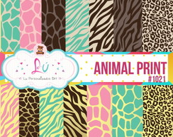 Papel digital Animal Print