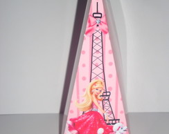 Cone triangular estampado Barbie