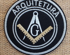 Patch Bordado termocolante ARQUITETURA