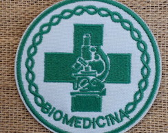 Patch Bordado termocolante BIOMEDICINA
