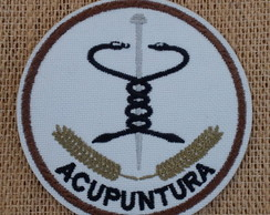 Patch Bordado termocolante ACUPUNTURA