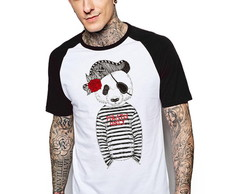 Camiseta Raglan Estampada King33