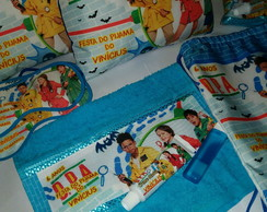 kit Noite do Pijama Detetives do Prédio Azul