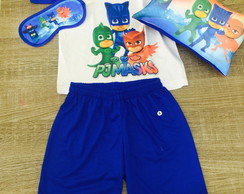 Kit Festa do Pijama PJ masks