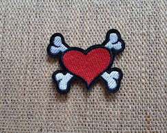 Patch Bordado termocolante HEART