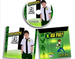 Dvd ou Cd Personalizado do Ben 10