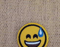 Patch Bordado Termocolante EMOJI MOD.6