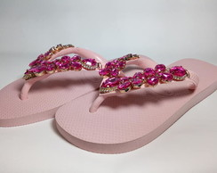Chinelo 35/36 Havaiana Rose