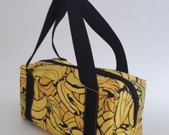 Bolsa Feminina Mini Baú We Love Bananas