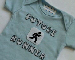 Body manga curta Future Runner