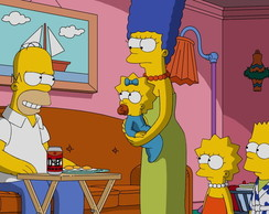 Painel 1x0,65 Simpsons
