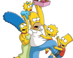 Painel 2x1 Simpsons