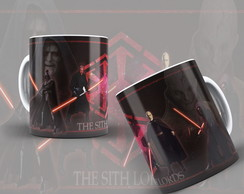 Caneca Darth Vader Star Wars The Sith Lords + Brinde