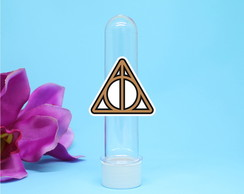 Tubete com aplique - Harry Potter