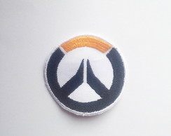 Patch Bordado Logo Overwatch - Fundo Branco