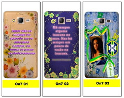 Capa Celular Personalizada - Galaxy On7